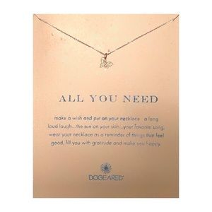 Dogeared All You Need Graceful Butterfly Necklace